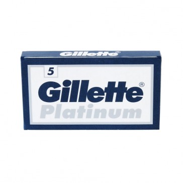 Gillette Platinum Double Edge Razor Blades 5-p