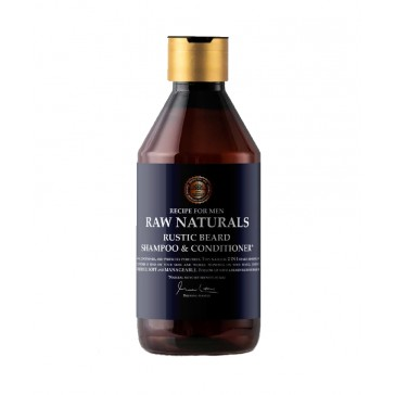 Raw Naturals Rustic Beard Shampoo & Conditioner