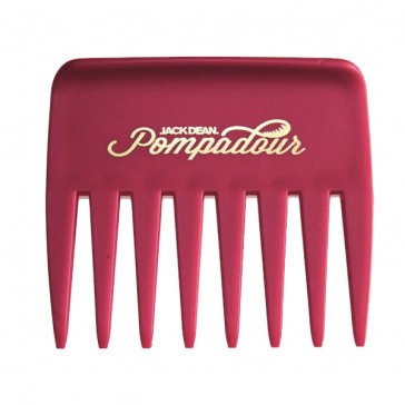 Jack Dean Pompadour Comb Red