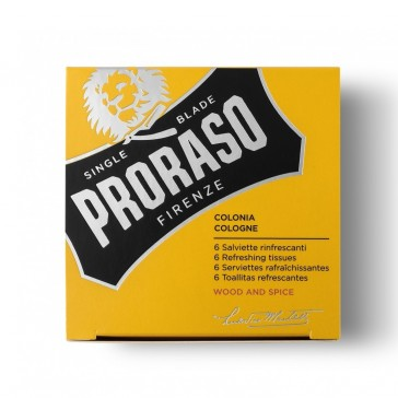 Proraso Refreshing Wipes Wood & Spice