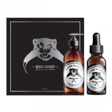 Beard Monkey Beard Care Christmas Kit Licourice