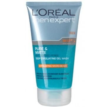 L'Oréal Men Expert Pure & Matt Exfoliating Cleansing Gel