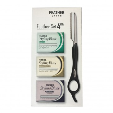 Feather Styling Set