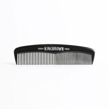 King Brown Pocket Comb Black