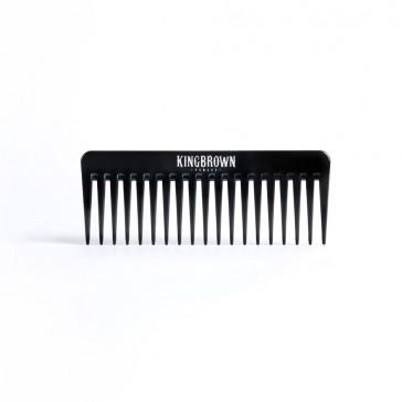 King Brown Texture Comb Black