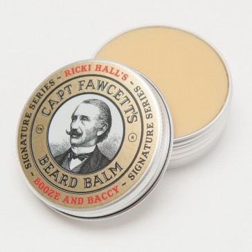 Captain Fawcett Beard Balm Ricki Hall's Booze & Baccy