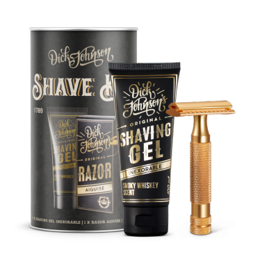 Dick Johnson Excuse My French Shave Kit