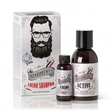 Beardburys Beard Color Shampoo Black
