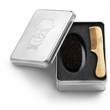 Barber Kit Comb & Brush