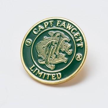 Captain Fawcett Stove Enamel Badge