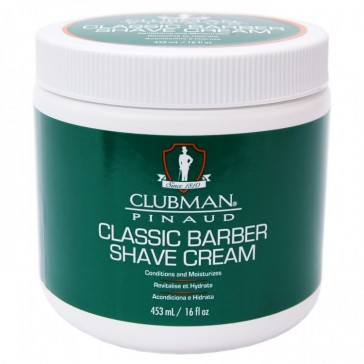 Clubman Pinaud Classic Barber Shave Cream 453 ml