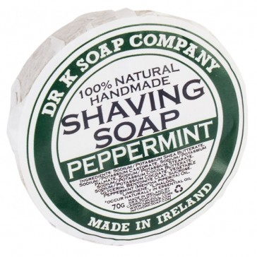 Dr K Soap Company Shaving Soap Peppermint