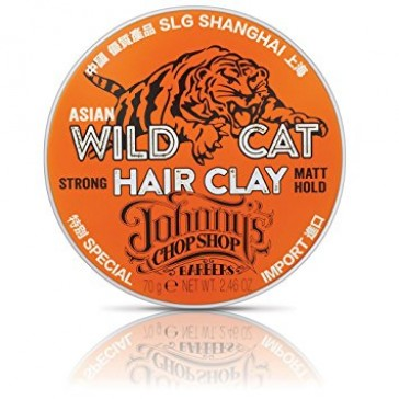 Johnny's Chop Shop Wild Cat Hair Clay