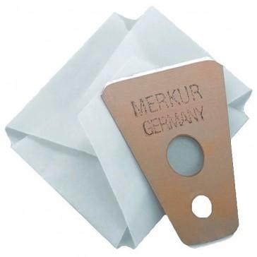 Merkur Mustasch- & skäggrakblad 10-p