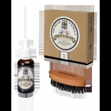 Mr Bear Brew & Brush Kit Woodland