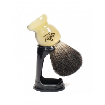 Omega Super Badger Shaving Brush with Stand