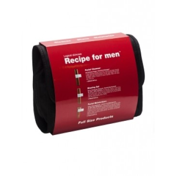 Recipe for men 3-way Gift Bag Red