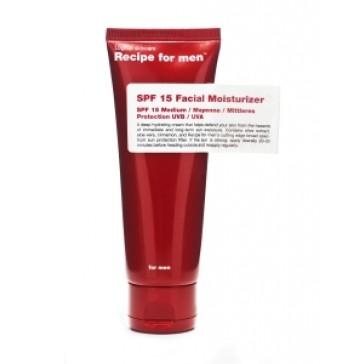Recipe for men SPF 15 Facial Moisturizer