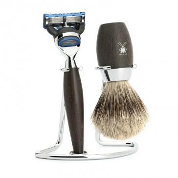 Mühle Kosmo Shaving Set Fusion + Fine Badger Oak