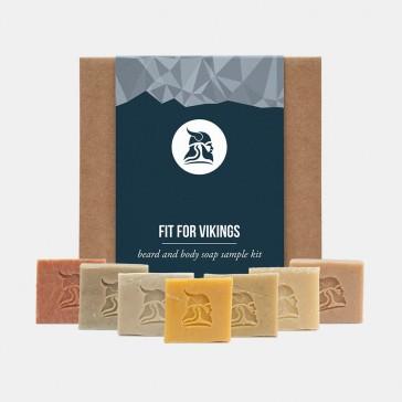 Fit for Vikings Beard & Body Beer Soap Sample Kit