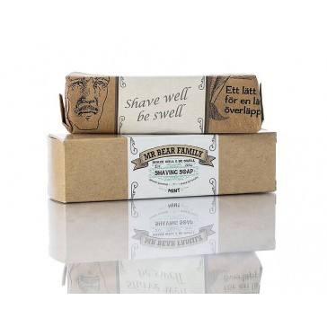 Mr Bear Family Shaving Soap Mint