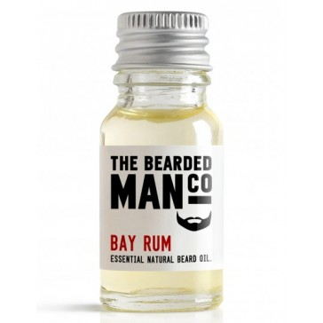 The Bearded Man Company Beard Oil Bay Rum 10 ml