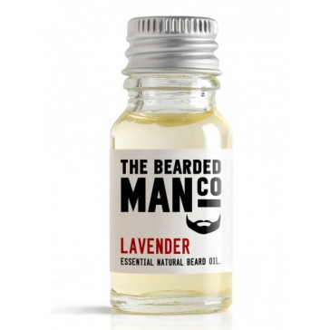 The Bearded Man Company Beard Oil Lavender 10 ml