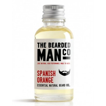 The Bearded Man Company Beard Oil Spanish Orange 30 ml
