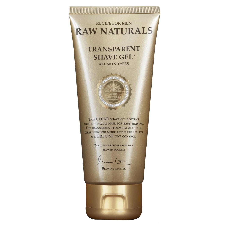 Raw Naturals Transparent Shave Gel