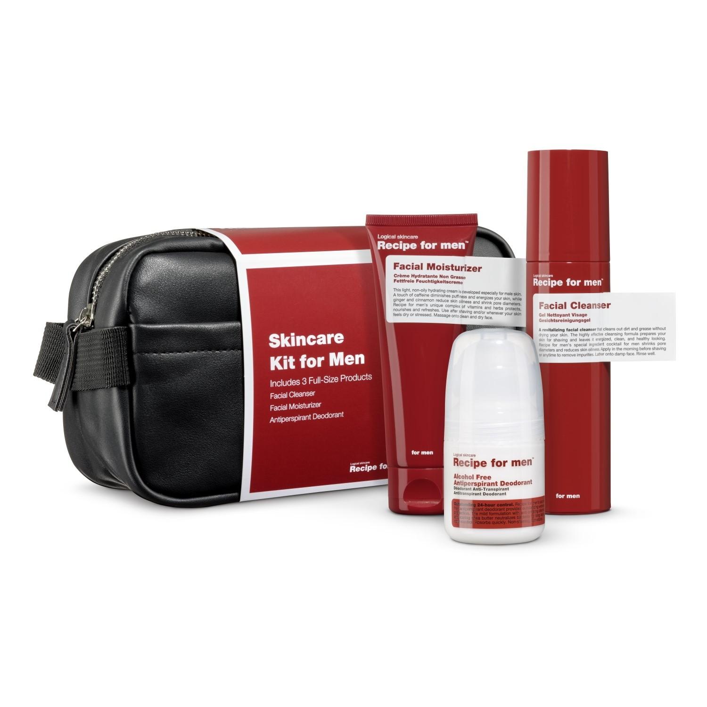 Recipe for men Christmas Skincare Kit