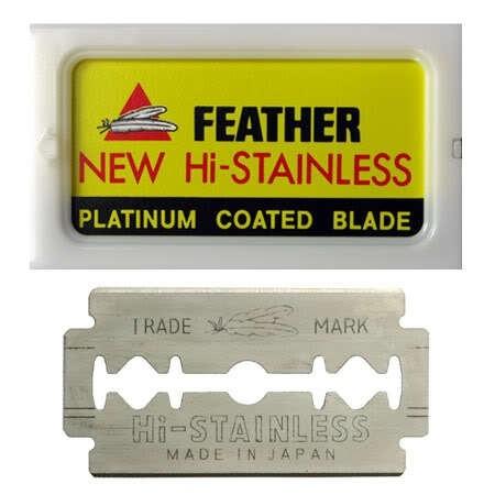Feather Double Edge Razor Blades 10-pack
