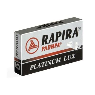Rapira Platinum LUX Double Edge Razor Blades 5-p