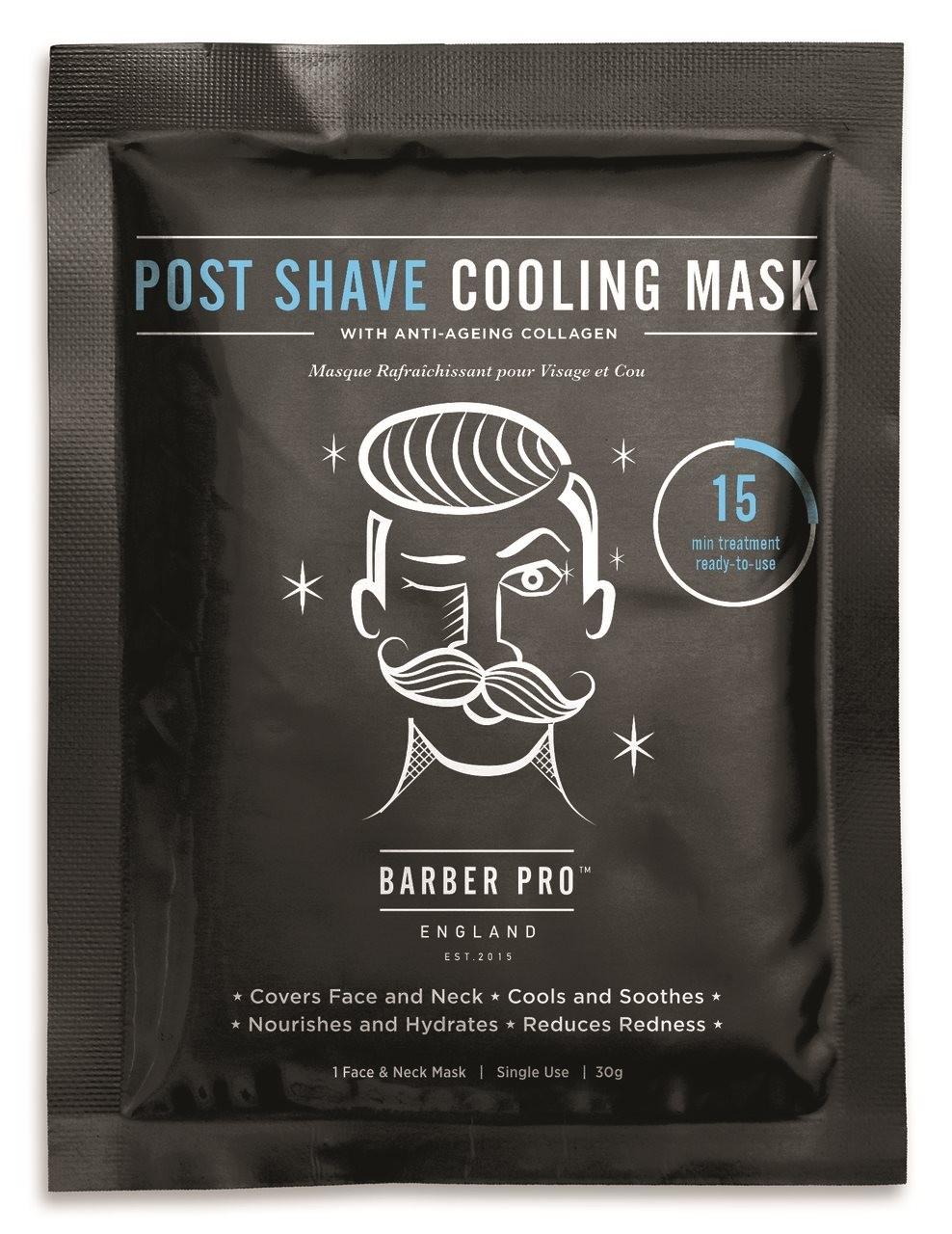 Barber Pro Post-Shave Cooling Mask