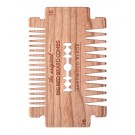 Big Red Beard Comb No.16 - Hardwood Blade Cherry