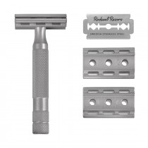 Rockwell Stainless Steel Safety Razor 6S