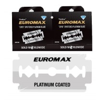 Euromax Platinum Double Edge Razor Blades 5-p