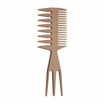 Styling Comb Wide Teeth Biege