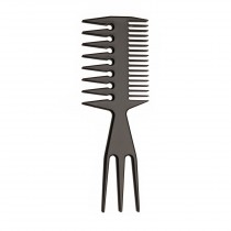Styling Comb Wide Teeth Black