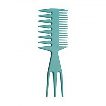 Styling Comb Wide Teeth Blue