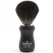 Omega Shaving Brush Pure Badger Ash Wood