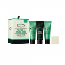 The Scottish Fine Soaps Vetiver & Sandalwood Luxurious Gift Set