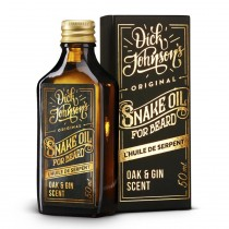 Dick Johnson Excuse My French Snake Beard Oil Oak & Gin 50ml