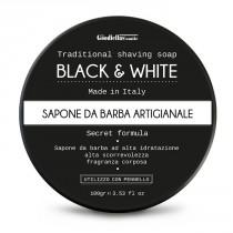 The Goodfellas' Smile Black & White Traditional Shaving Soap
