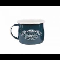 Mr Bear Family Shaving Mug Enamel