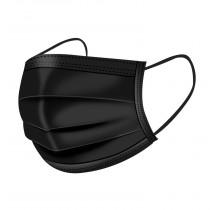 Face Mask Black 10-pack