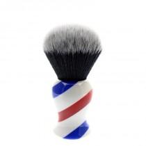 Yaqi Synthetic Tuxedo Shaving Brush Jumbo Barber 30mm