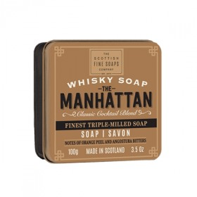 The Scottish Fine Soaps Whisky Soap Manhattan