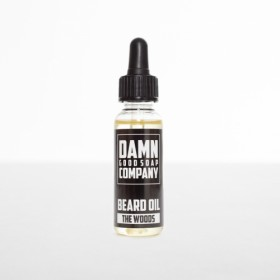 Damn Good Soap Company Beard Oil Dropper The Woods