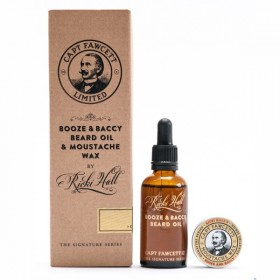 Captain Fawcett Ricki Hall' Booze & Baccy Gift Set
