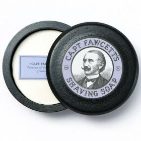 Captain Fawcett Shaving Soap with Bowl